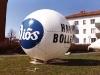 2.7m flygande boll - Diös