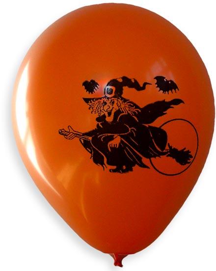 Ballonger med tryck - Häxa