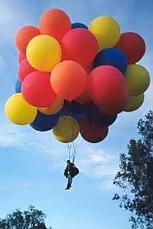 Helium - ballongflyg