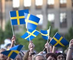 pappersflaggor svenska